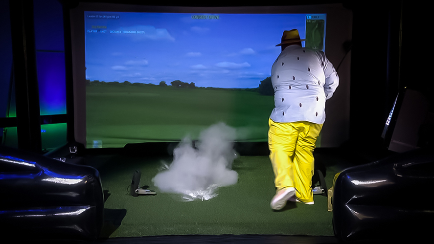 Big Narstie Show Exploding Golf Ball
