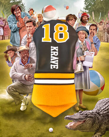 Novelty Golf Head Cover - Happy Gilmore